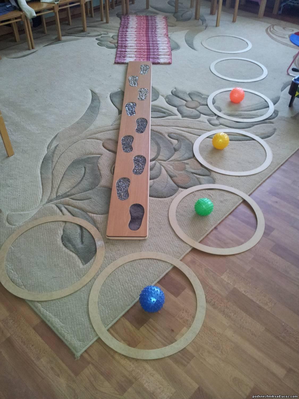 Нестандартное оборудование по физкультуре в детском саду своими руками 60