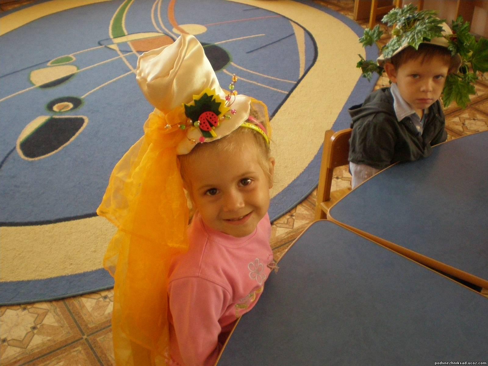 Шляпка своими руками ребенку 85