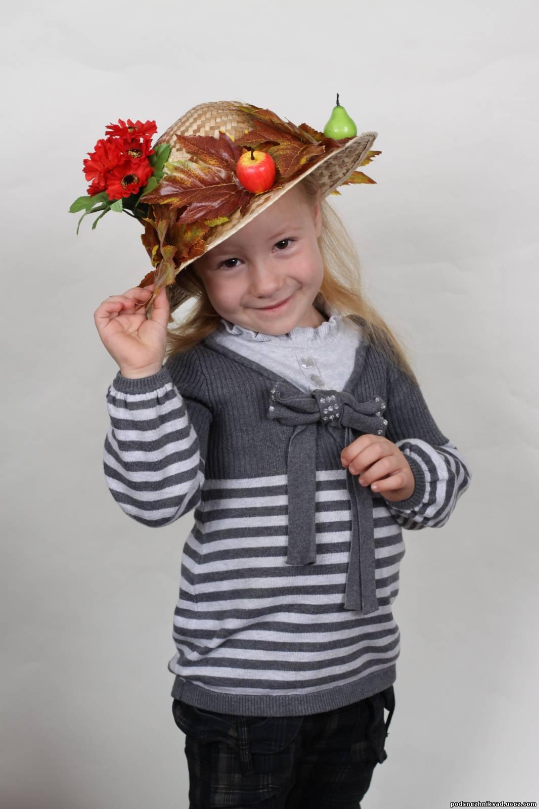 Как сделать шляпу на конкурс в Детский сад своими руками? 62