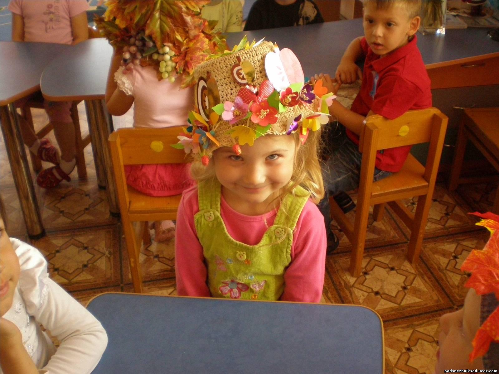 Шляпы своими руками на конкурс в детский сад
